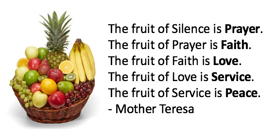Fruit-PrayerMotherTeresa